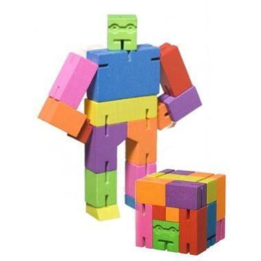 Cubebot - Micro Rainbow - David Weeks - Hugs For Kids