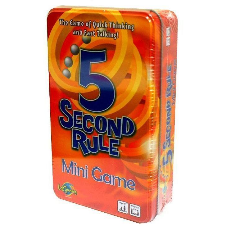5 second rule card game - Family Games - Hugs For Kids