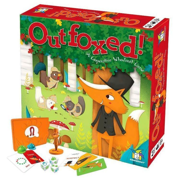 Outfoxed! Whodunit game - Family Games - Hugs For Kids