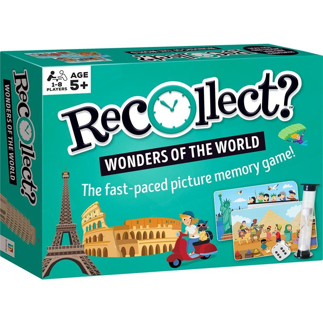Recollect Wonders of the World Game
