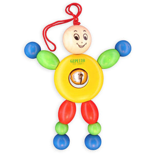 Gepetto Toycraft For Baby Tommy Wooden Teether kids-children-mums-parenting-toyshop-fun kids-children-mums-parenting-toyshop-fun