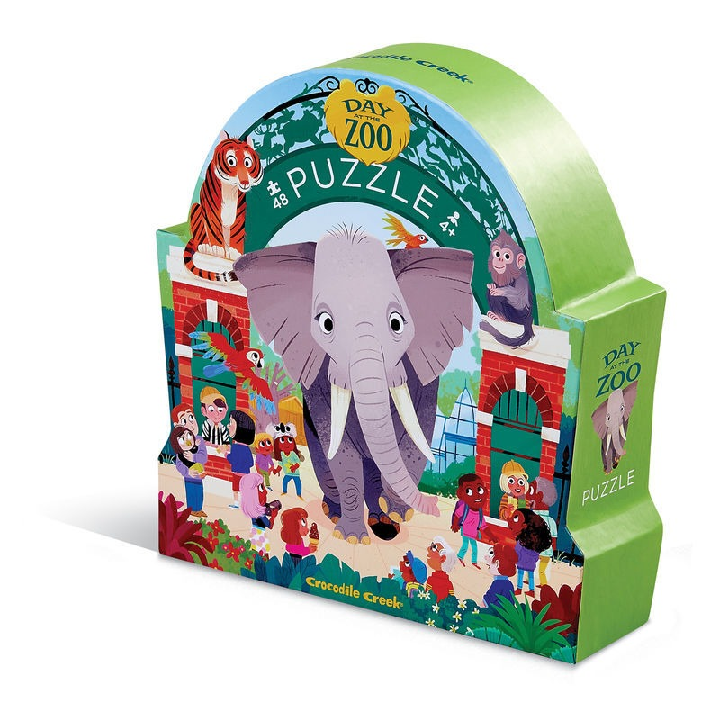 Day at the Museum Puzzle 48pc - Zoo