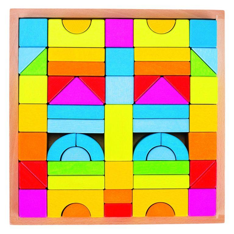 Rainbow Building Blocks - Goki - Hugs For Kids