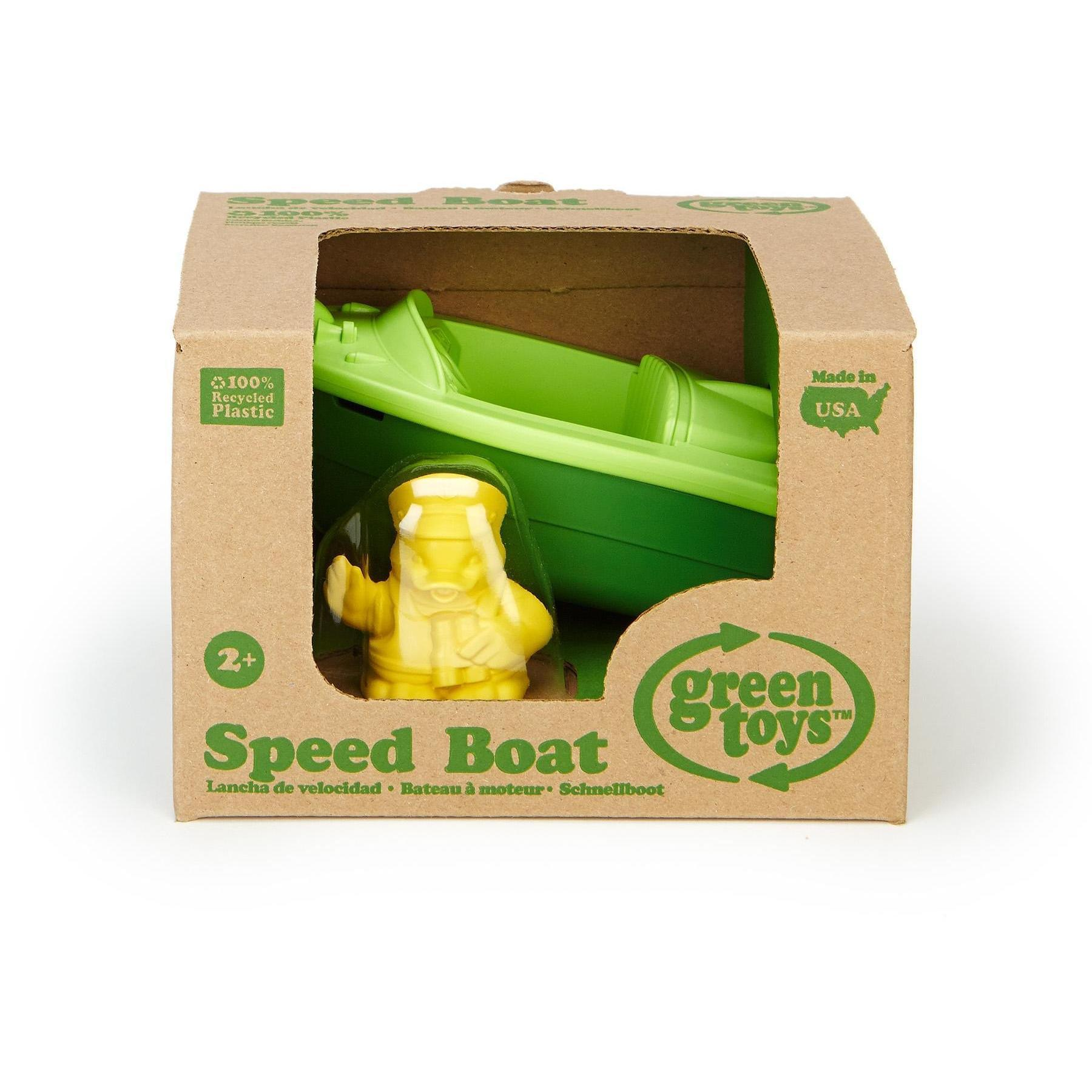 Bath Speed Boat - Green Toys - Hugs For Kids