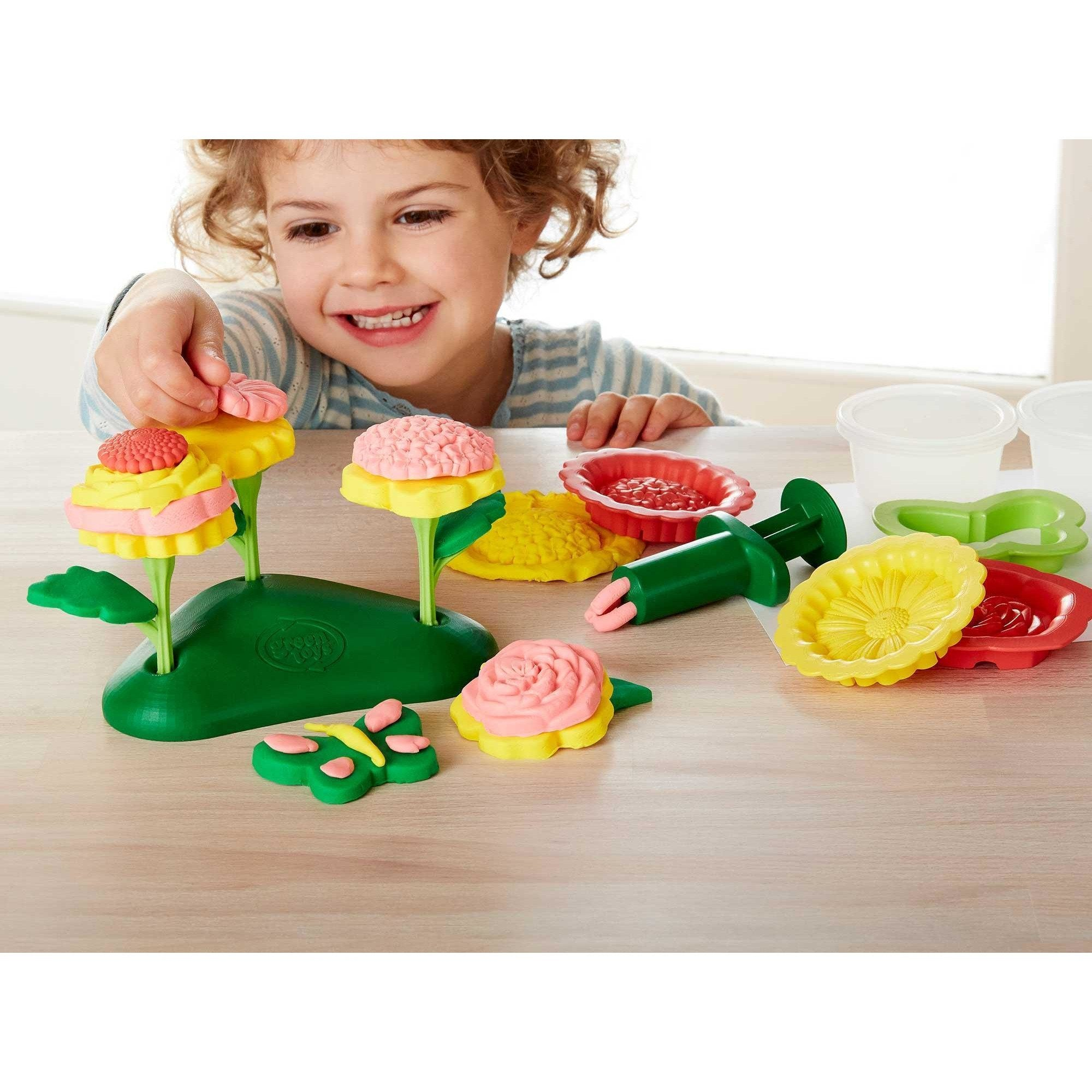Green Toys To Play Flower Maker Dough Set kids-children-mums-parenting-toyshop-fun kids-children-mums-parenting-toyshop-fun