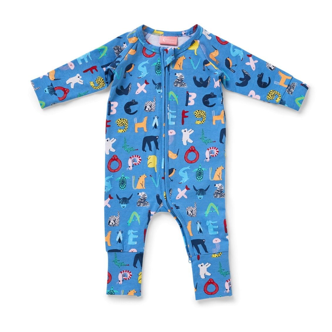 ABC Animals Twilight Sleeve Suit - Halcyon Nights - Hugs For Kids
