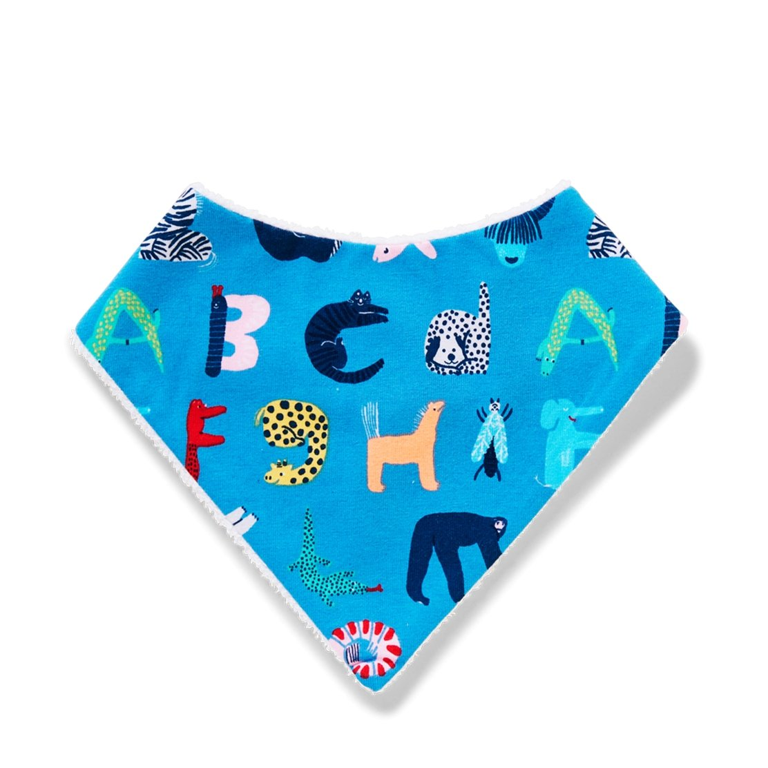 ABC Animals Twilight Yoyo Bib - Halcyon Nights - Hugs For Kids