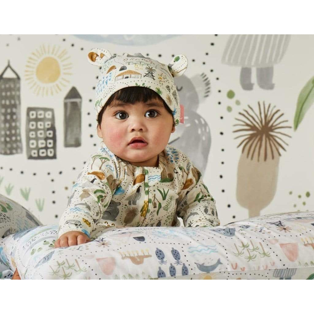 Big Adventures LS Zip Suit - Halcyon Nights - Hugs For Kids