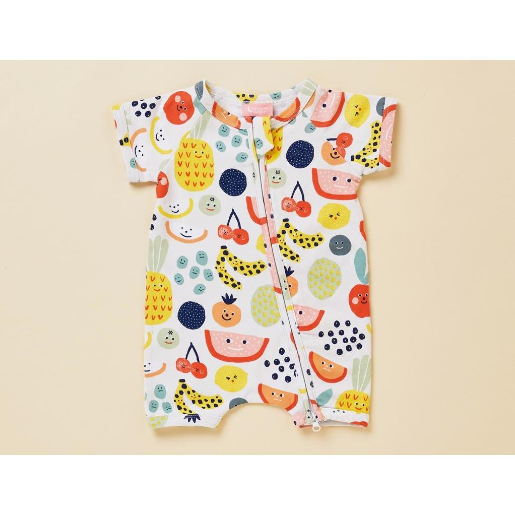 Fruit Tingle Summer Sleepersuit - Halcyon Nights - Hugs For Kids