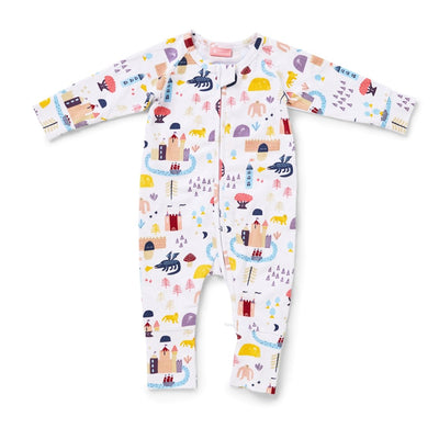 Wild Wood Long Sleeve Suit - Halcyon Nights - Hugs For Kids