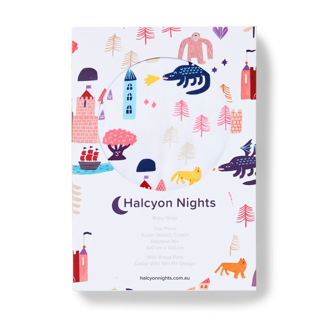 Wild Wood Wrap - Halcyon Nights - Hugs For Kids