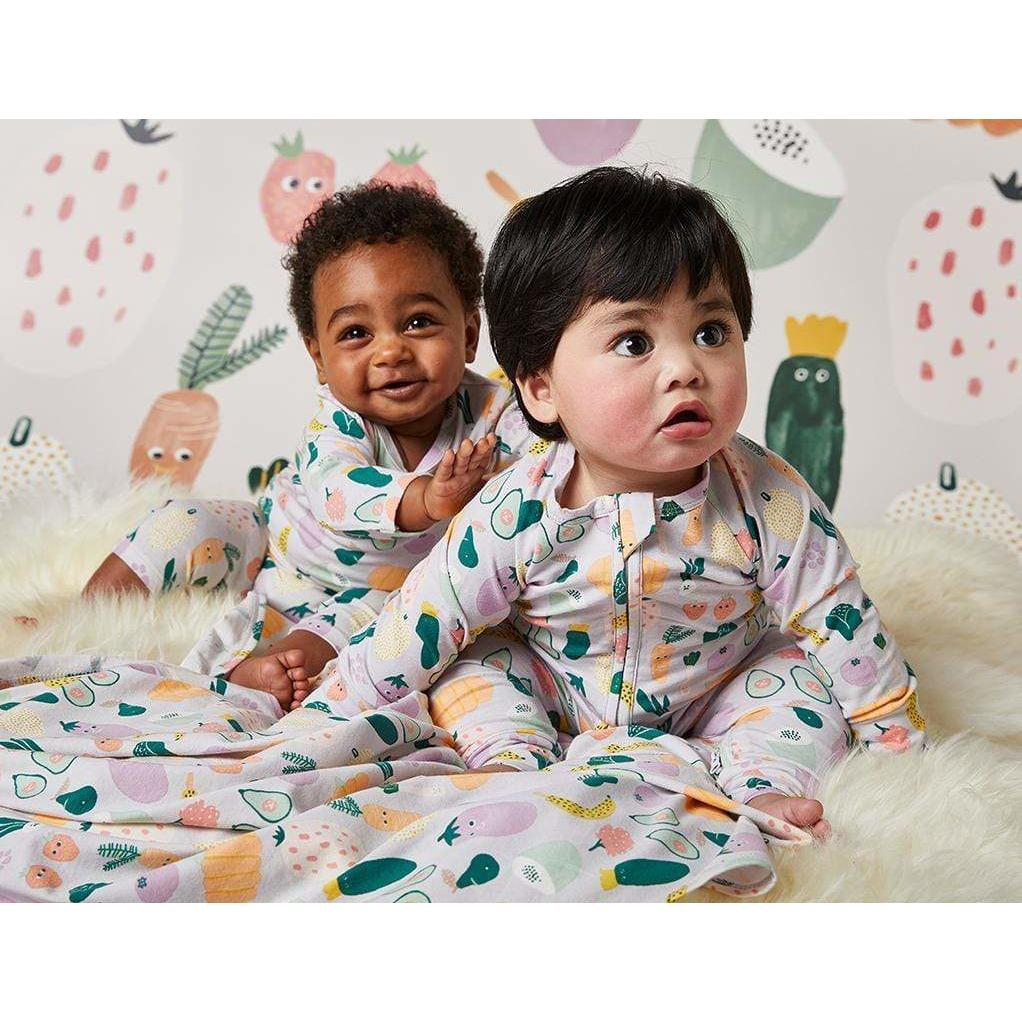 Winter Garden LS Zip Suit - Halcyon Nights - Hugs For Kids
