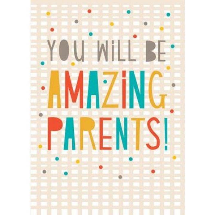 Amazing Parents Card - Handmade Cards - Hugs For Kids