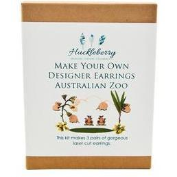 Australian Zoo Designer Earrings - Huckleberry - Hugs For Kids
