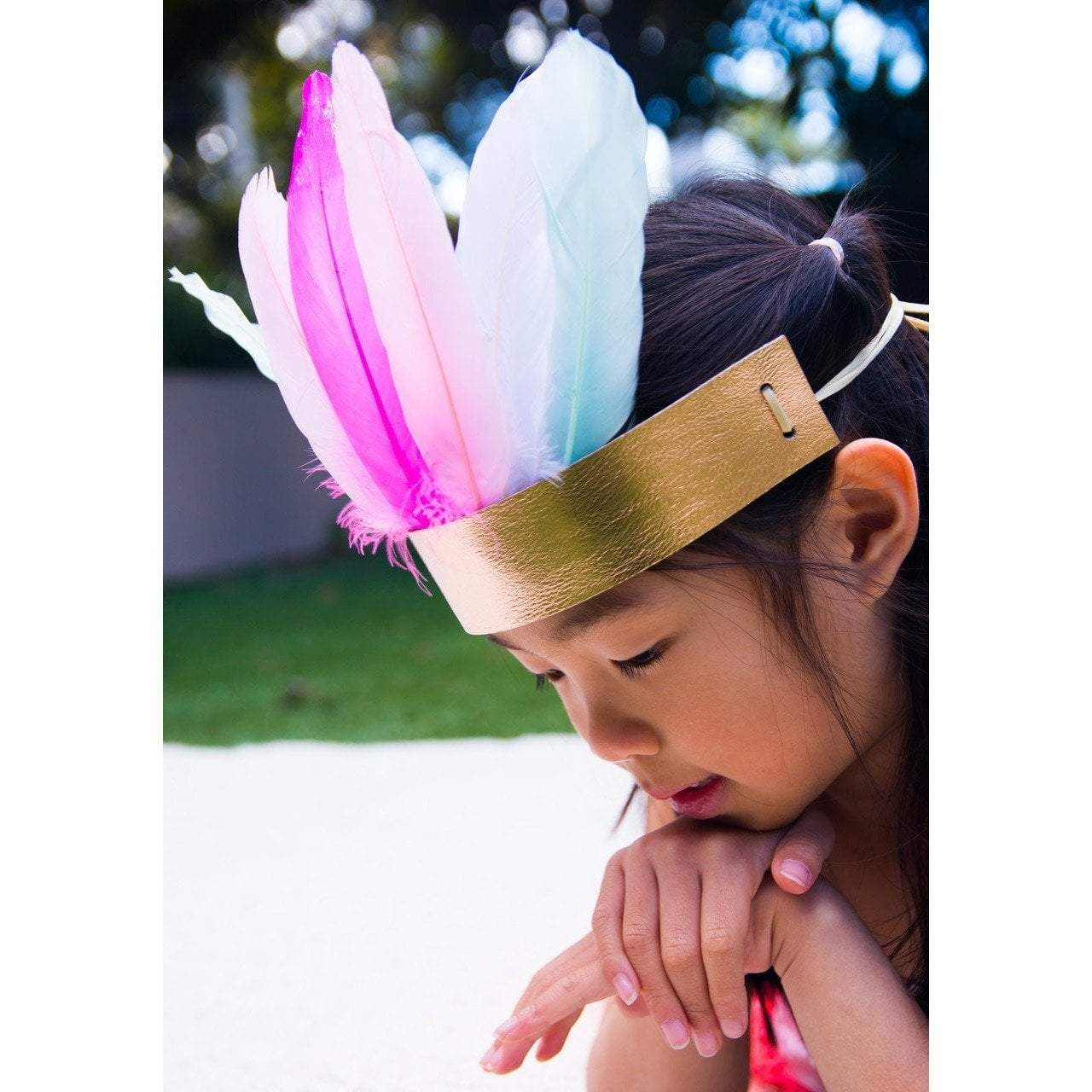 MYO Feather Crown - Huckleberry - Hugs For Kids