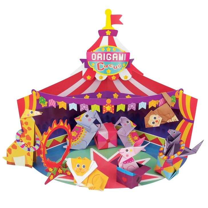 Origami Circus - Huckleberry - Hugs For Kids