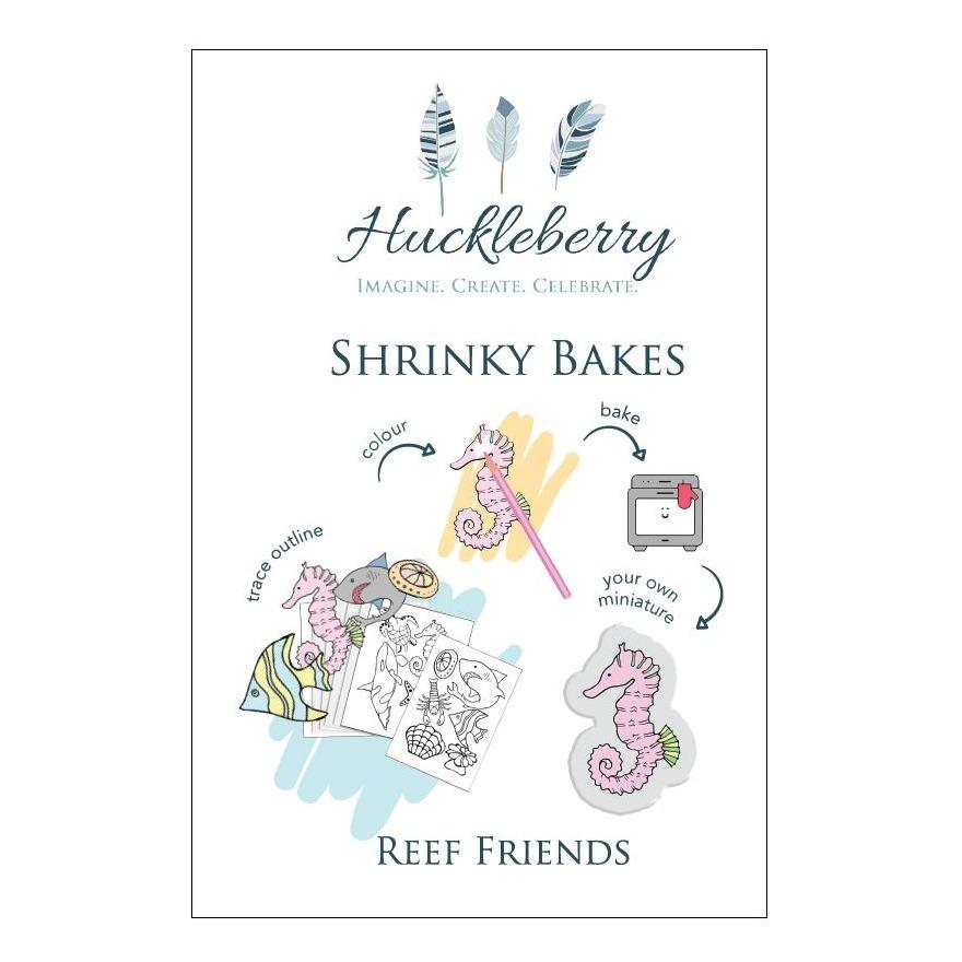 Shrinky Bakes - Huckleberry - Hugs For Kids