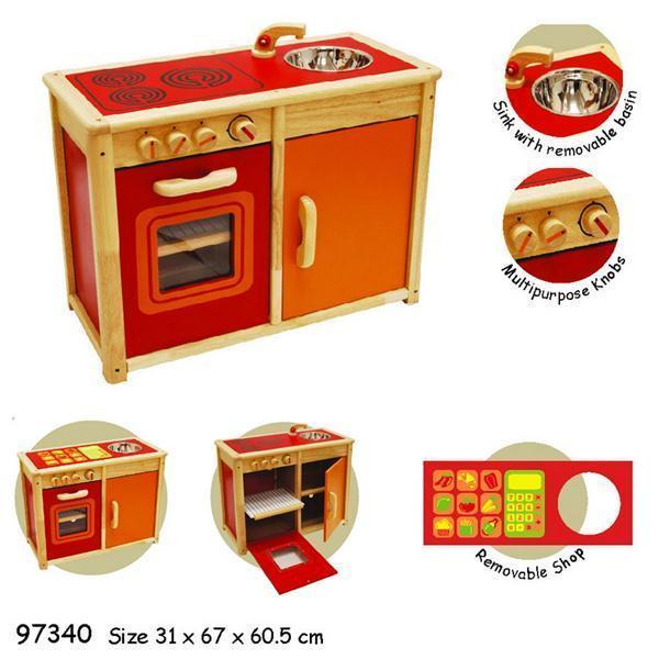 Oven and Cupboard Sink Unit - I'm Toy - Hugs For Kids