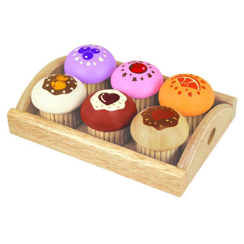 Wooden Muffin Set - I'm Toy - Hugs For Kids