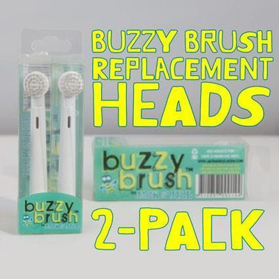 Buzzy Brush Replacement Heads - Jack n Jill - Hugs For Kids
