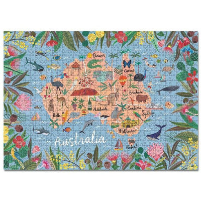 Australia 1,000pc Puzzle - Journey of Something - Hugs For Kids