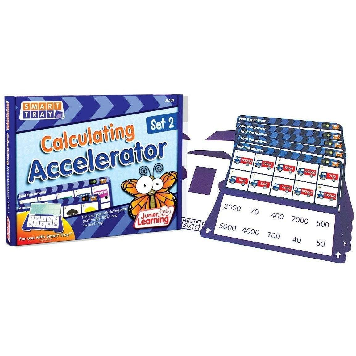 Calculating Accelerator 2 - Junior Learning - Hugs For Kids