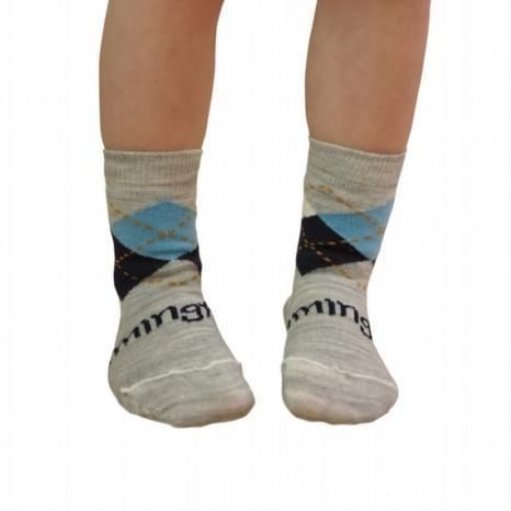 Merino Crew Sock - Darcy - Lamington - Hugs For Kids