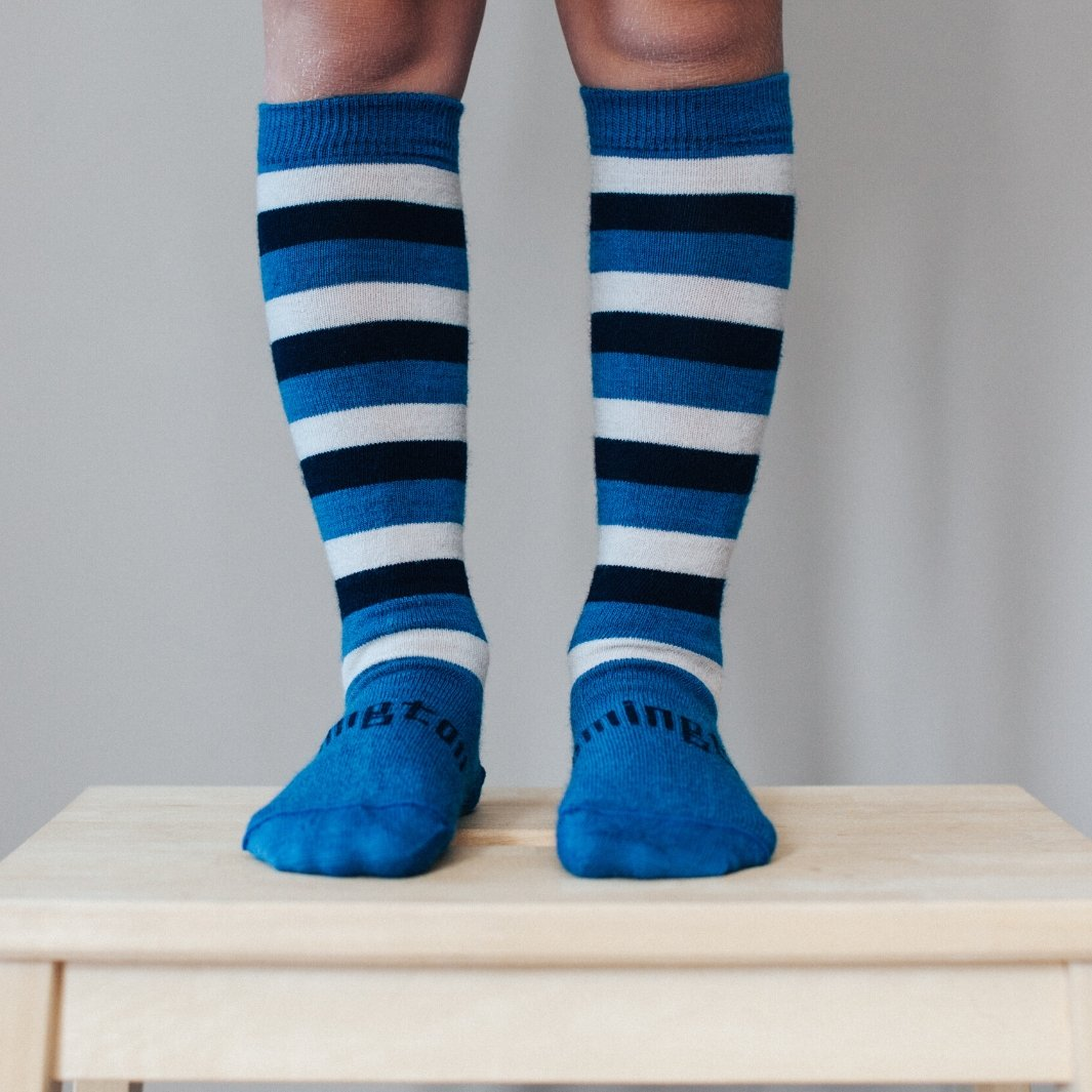Merino Socks - Marine - Lamington - Hugs For Kids