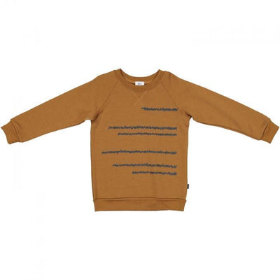Beatnik Crew Merino Sweatshirt - Little Flock of Horrors - Hugs For Kids