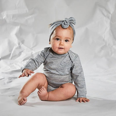 Merino Bodysuit - Little Flock of Horrors - Hugs For Kids