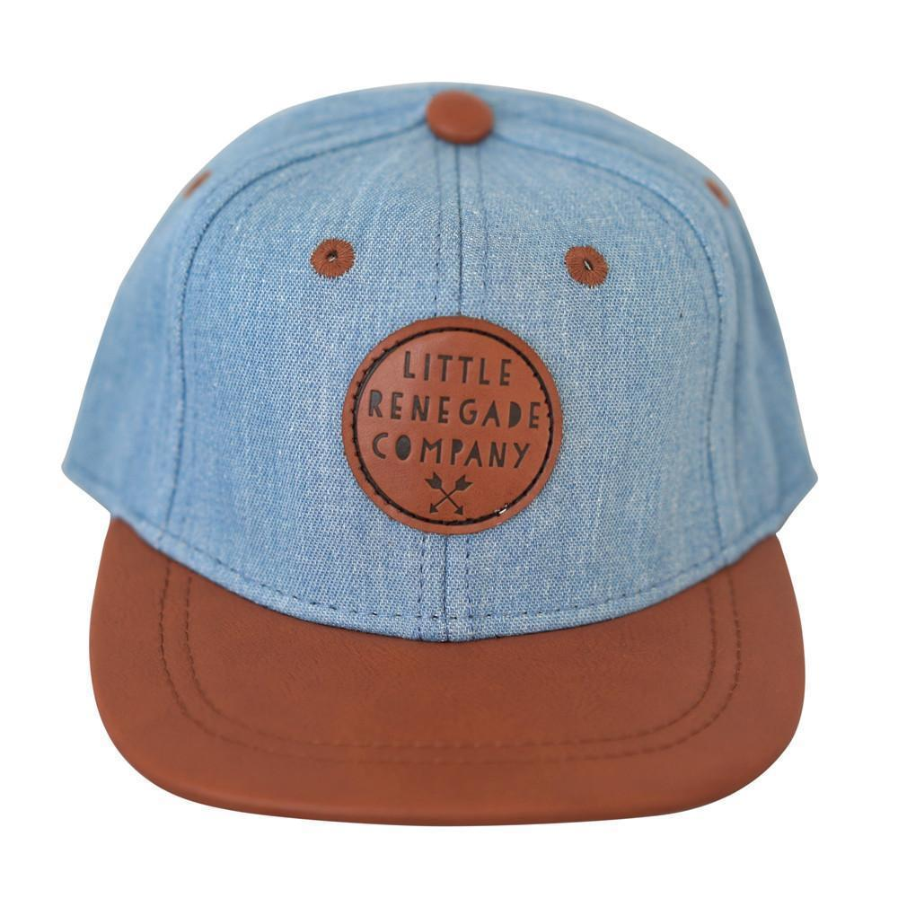 Denim and Tan Cap - Little Renegade - Hugs For Kids
