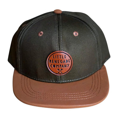 Khaki and Tan Cap - Little Renegade - Hugs For Kids