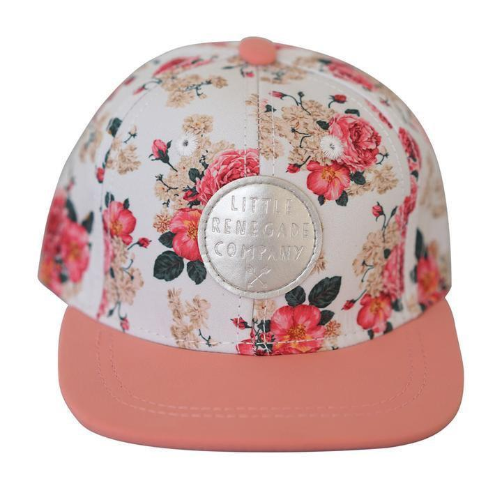 Vintage Floral Cap - Little Renegade - Hugs For Kids