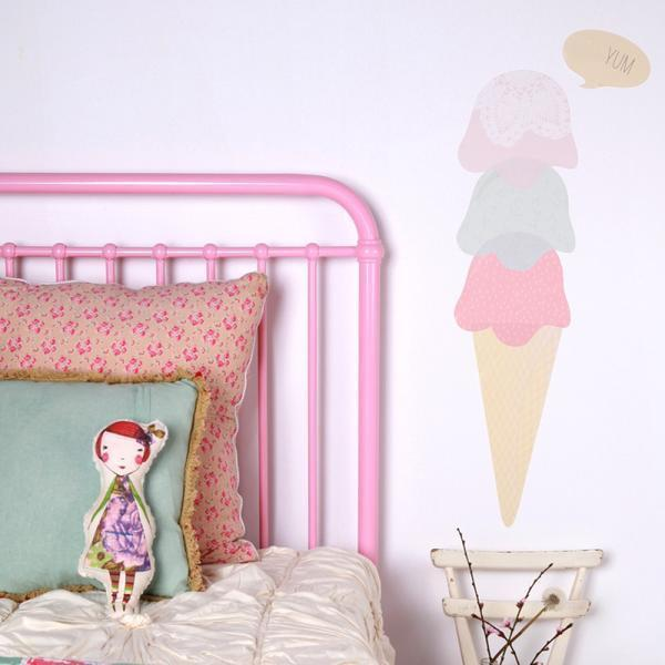 Ice Cream Decals - Love Mae - Hugs For Kids