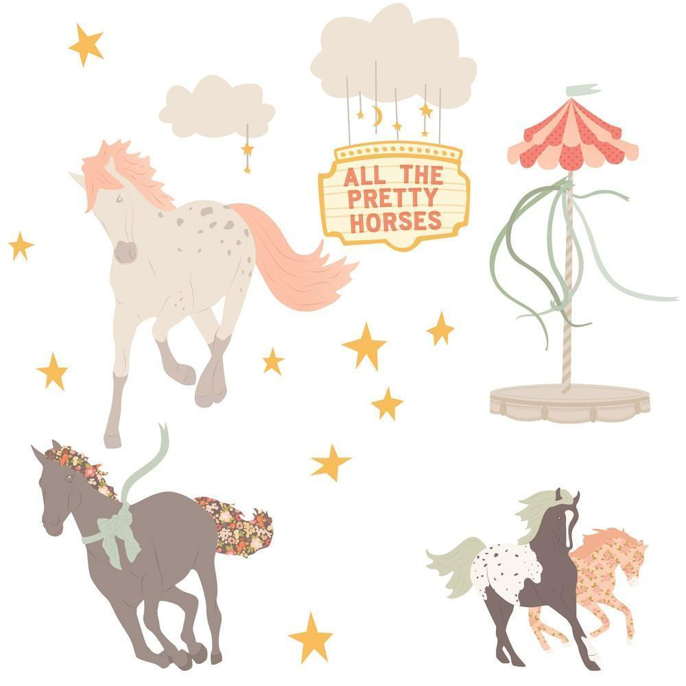 Pretty Horses Decals - Love Mae - Hugs For Kids
