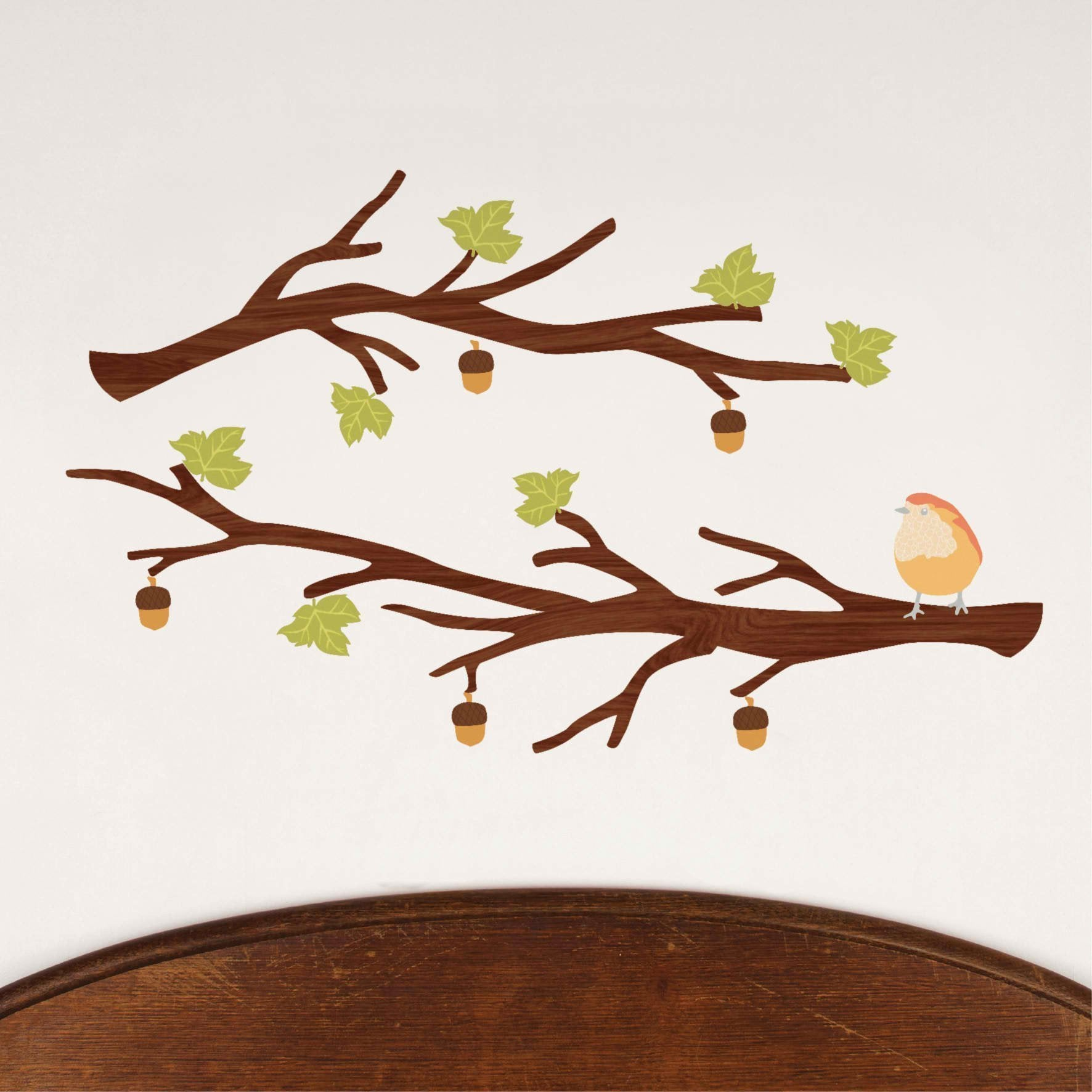 Small Branch Decals - Dark - Love Mae - Hugs For Kids