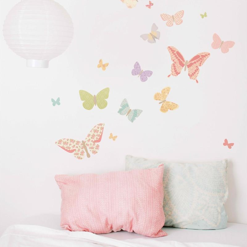 Small Butterfly Decals - Girly - Love Mae - Hugs For Kids