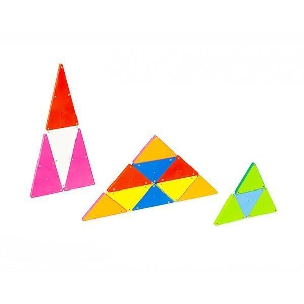 100 Piece Solid Colours Magna-Tiles - MagnaTiles - Hugs For Kids