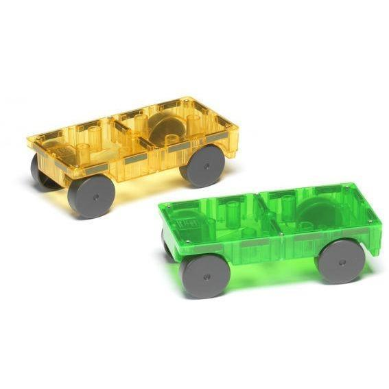 2 Car Magna-Tiles Expansion Set - MagnaTiles - Hugs For Kids