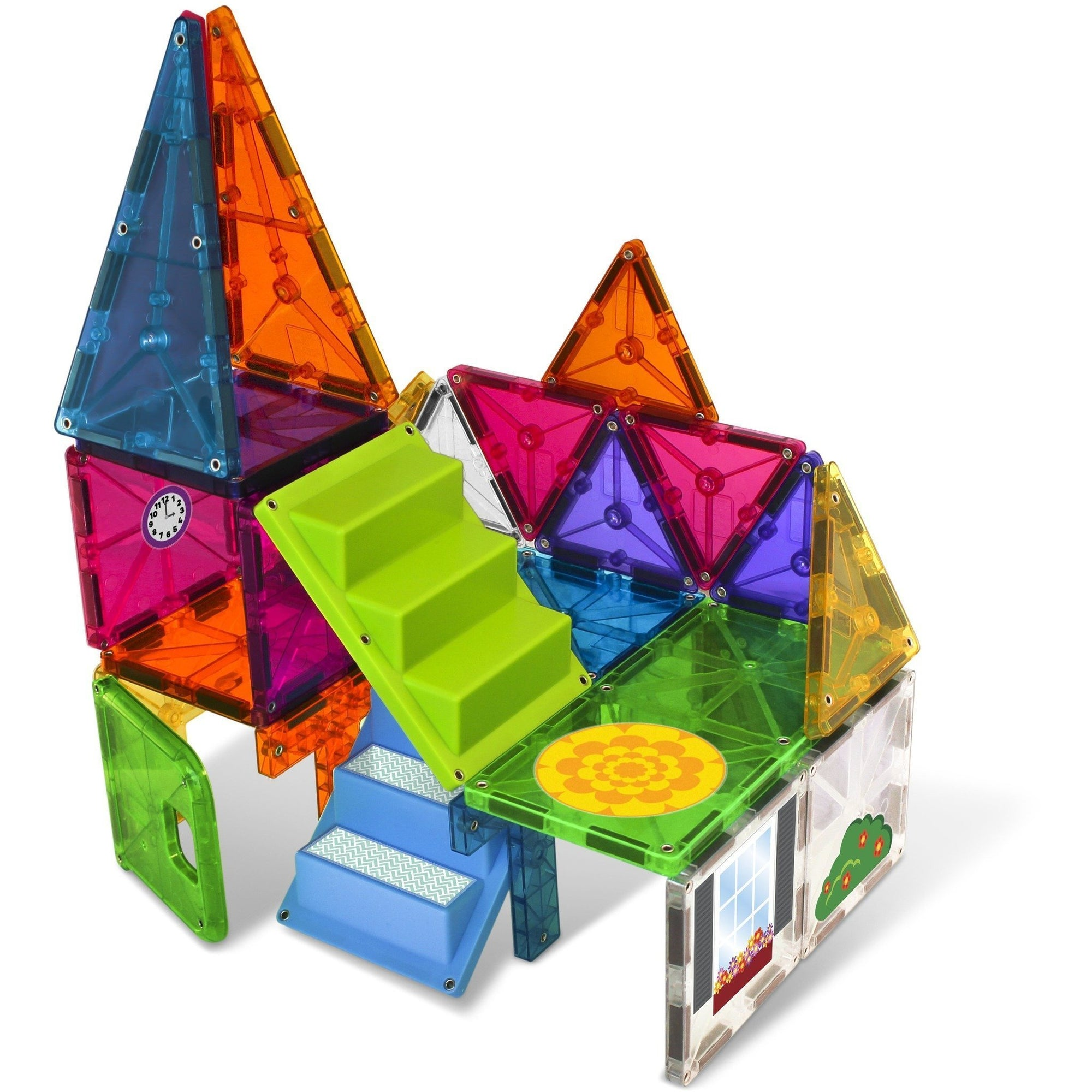 28 Piece House Magna-Tiles - MagnaTiles - Hugs For Kids