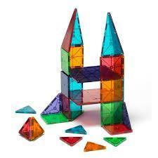 32 Piece Clear Colours Magna-Tiles - MagnaTiles - Hugs For Kids