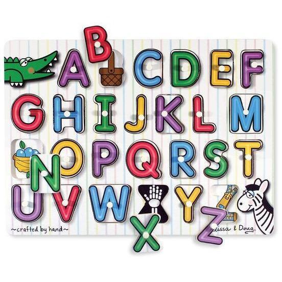 Melissa & Doug To Play Alphabet Peg Puzzle kids-children-mums-parenting-toyshop-fun kids-children-mums-parenting-toyshop-fun