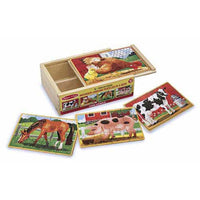Melissa & Doug To Play Farm Puzzles in a Box kids-children-mums-parenting-toyshop-fun kids-children-mums-parenting-toyshop-fun