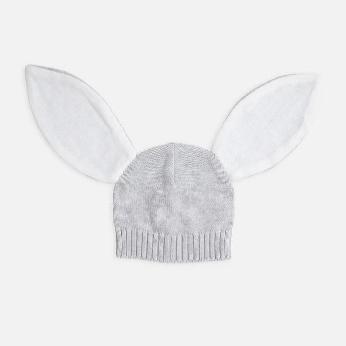 Grey Rabbit Beanie - Miann and Co. - Hugs For Kids