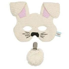 Kids Bunny Mask & Tail Set - Cream - Miann and Co. - Hugs For Kids
