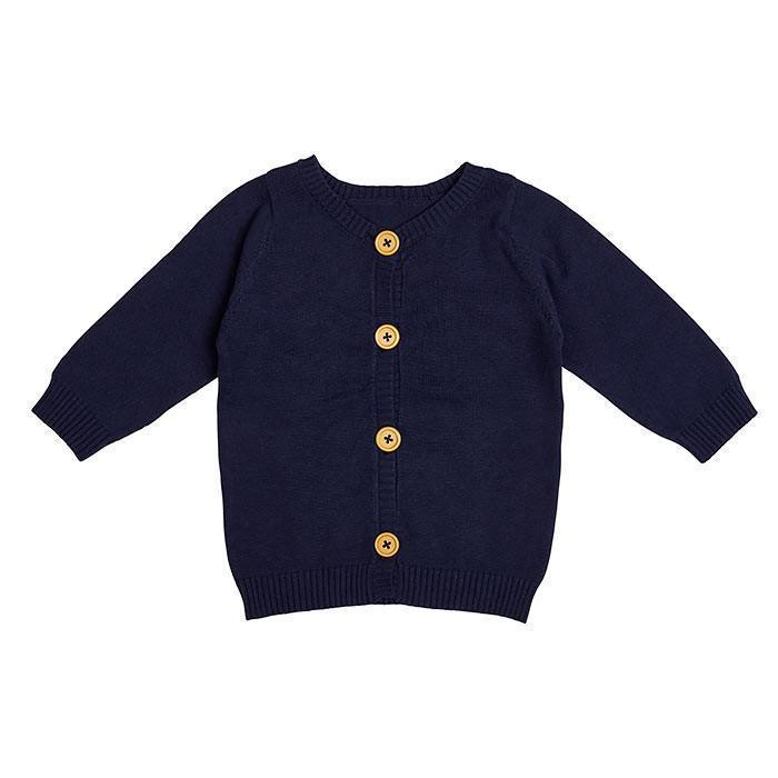 Navy Cardigan - Miann and Co. - Hugs For Kids