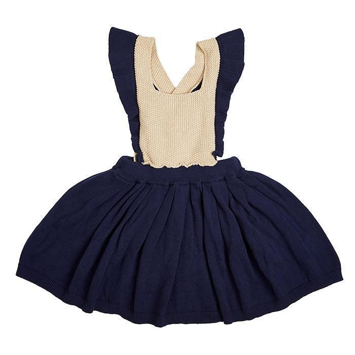Navy Pinafore - Miann and Co. - Hugs For Kids