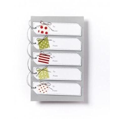 Set Of 5 Christmas Present Gift Tags - Nana Huchy - Hugs For Kids
