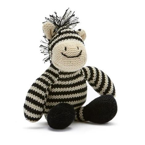 Zac The Zebra Rattle - Nana Huchy - Hugs For Kids