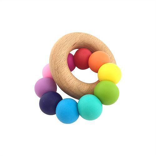 Rainbow Bright Teether - Nature Bubz - Hugs For Kids
